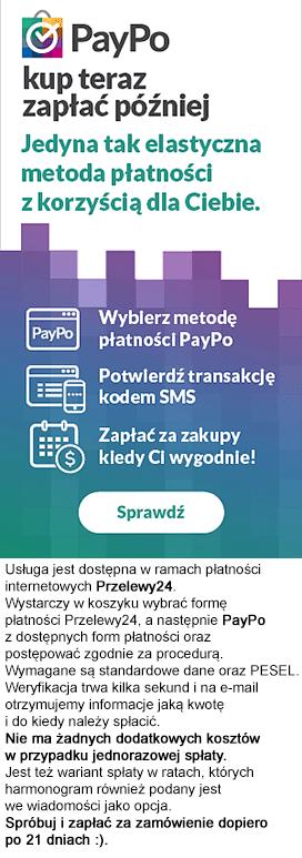 PayPo - zamów dziś zapłać za 21 dni