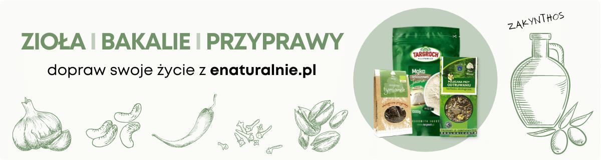 Ekologiczne zioła i produkty sypkie
