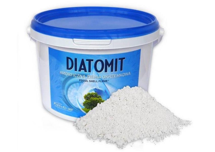 Diatomit Ziemia Okrzemkowa Fossil Shell Flour