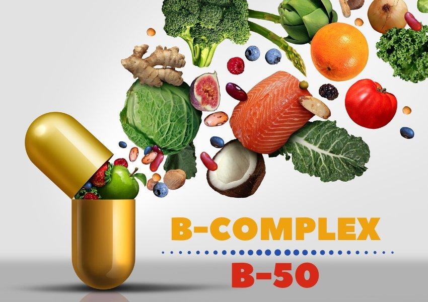 Witaminy z grupy B (B-Complex, B-50) - Dlaczego każdy powinien suplementować?